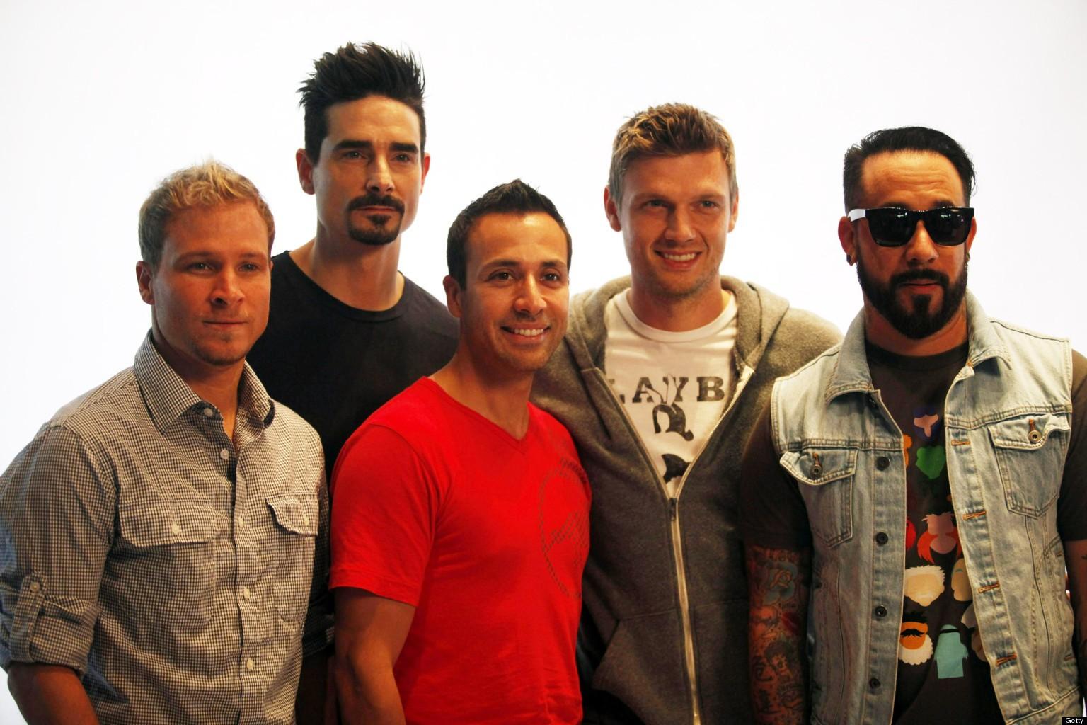 Backstreet Boys Press Conference In Beijing
