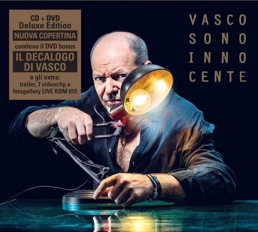 Cover CD Vasco Sono Innocente
