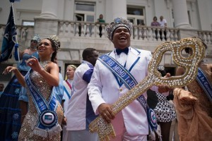 Official Opening Ceremony of Rio de Janeiro's 2014 Carnival