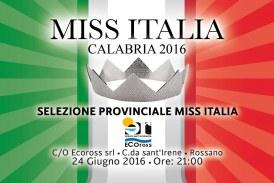 Miss Italia Calabria: il 24 Giugno da Rossano partiranno le selezioni per la Nuova edizione di Miss Italia