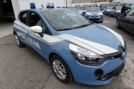 Renault: a breve saranno consegnate le nuove Clio alla Polizia