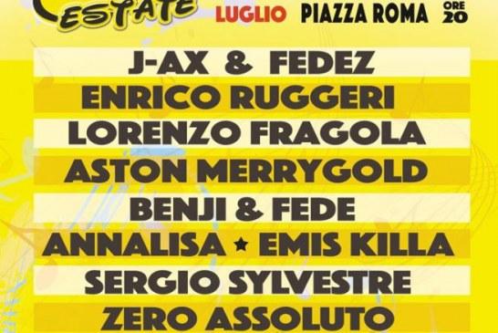 Radio Bruno Estate 2016: il 26 luglio in concerto a Modena con tanti ospiti
