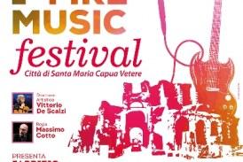 Fire Music Festival: la finale il 01 Ottobre con Frizzi, Cotto, De Scalzi, Platinette e Fabrizio Moro