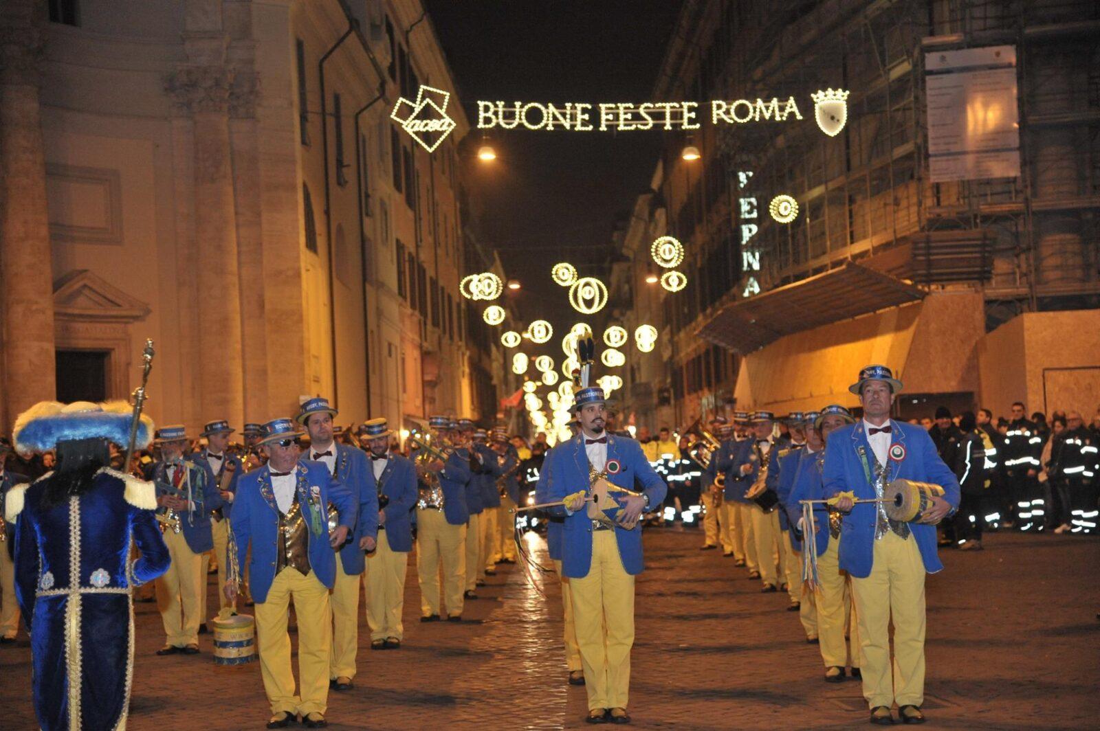 new years parade roma