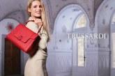 Trussardi: Michelle Hunziker per la campagna primavera estate 2017 della LOVY Bag