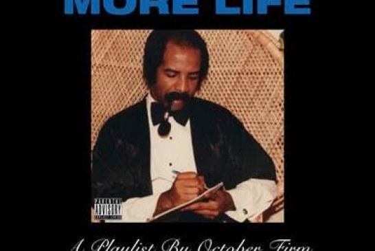 """Drake: disponibile in digitale il nuovo album """"MORE LIFE"""""""