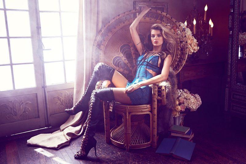 best website 0f74c 0da87 Guess lingerie: arriva la nuova campagna autunno-inverno ...