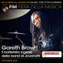 Gareth Brown - fim fiera