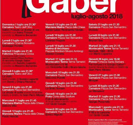 festival gaber 2018
