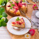 Torta soffice alle fragole