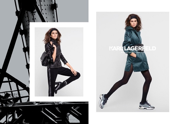 Karl Lagerfeld - Kaia Gerber
