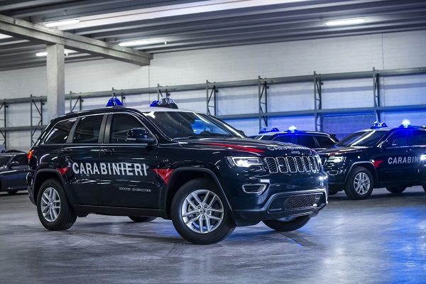 Jeep Grand Cherokee - carabinieri