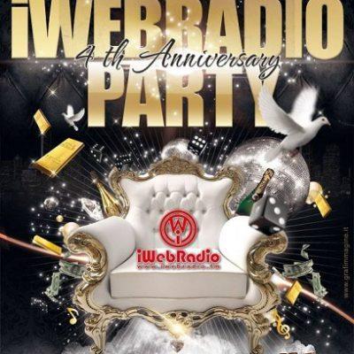 iwebradio party quarto anniversario