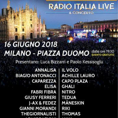 radio italia live - il concerto 2018
