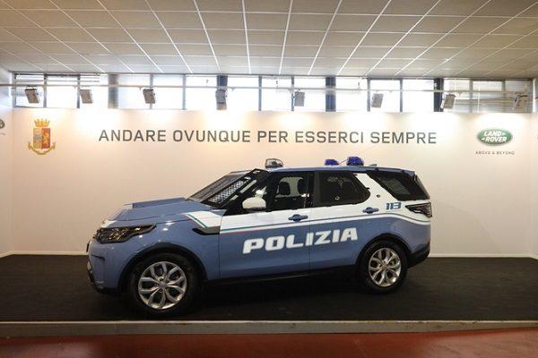 Land Rover Discovery polizia