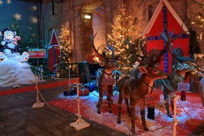 casa di Babbo Natale Montecatini