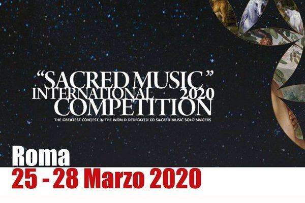 """Concorso Internazionale """"Musica Sacra"""""""