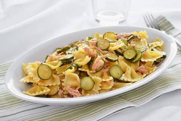 Pasta fredda tonno e zucchine