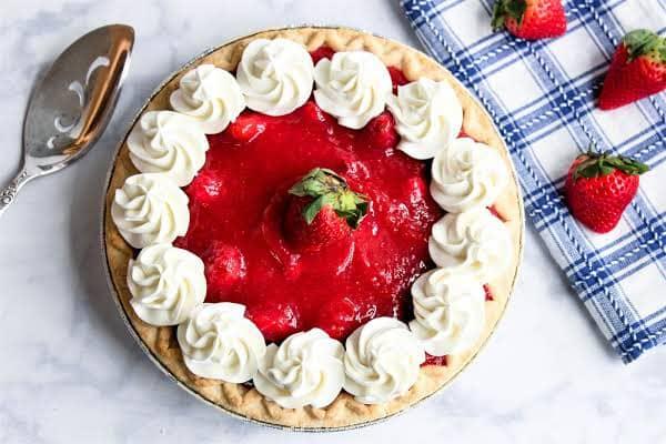 torta alle fragole - Strawberrypie