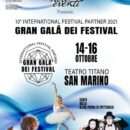 "International Festival Partner ""Gran Galà dei Festival"""